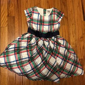 Gymboree plaid holiday dress